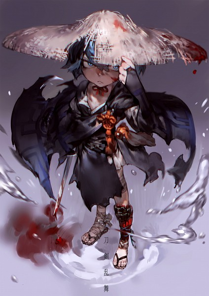 Tags: Anime, Pixiv Id 5129841, Touken Ranbu, Sayo Samonji, Mobile Wallpaper
