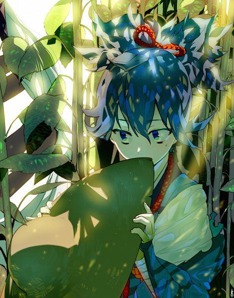 Tags: Anime, EMJE, Touken Ranbu, Sayo Samonji, Bamboo Hat, PNG Conversion, Pixiv, Fanart, Fanart From Pixiv