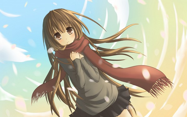 Tags: Anime, Supercell, Lonely, Wallpaper, Sayonara Memories, Pixiv