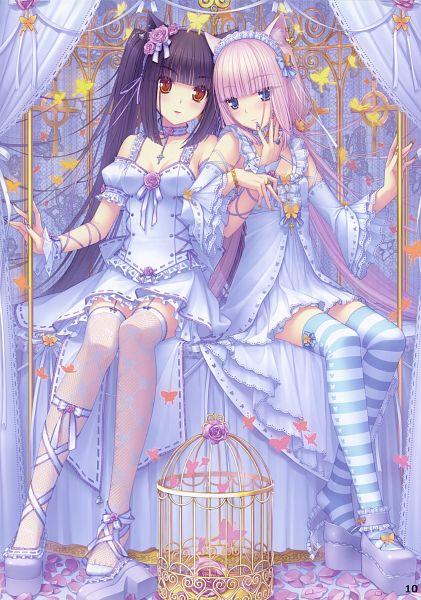 Tags: Anime, Sayori, NEKO PARADISE II, NEKO BIBLE, NEKO PARADISE, Neko Para, Vanilla (Neko Para), Chocola (Neko Para), Comic Market 76, Mobile Wallpaper, Scan, Comic Market 77, Calendar 2010