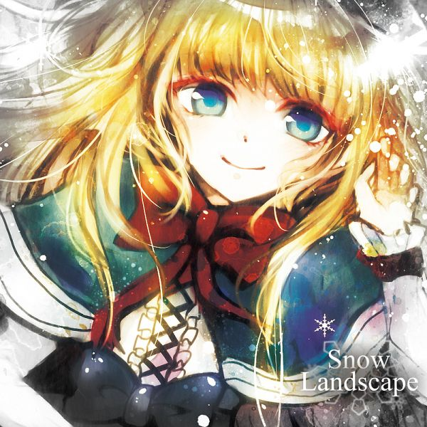 Tags: Anime, Sazanami Shione, Snow Landscape, Pixiv, Original, Comic Market 81, Comic Market