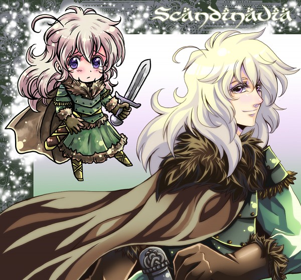 Tags: Anime, R-ninja (Artist), Axis Powers: Hetalia, Scandia