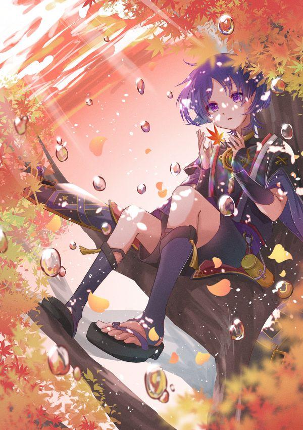 Tags: Anime, Pixiv Id 3303895, Genshin Impact, Scaramouche