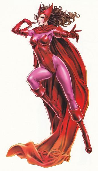 Tags: Anime, Yamashita Shunya, X-Men, Yamashita Shunya's One Voice, Scarlet Witch, Mobile Wallpaper, Marvel