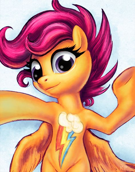 Scootaloo - My Little Pony