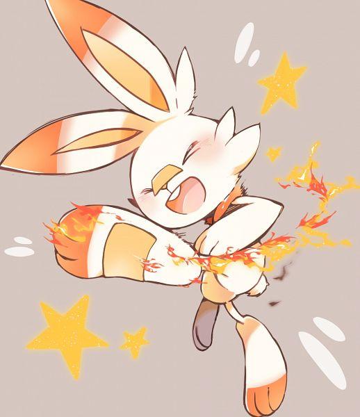 Tags: Anime, Pixiv Id 969027, Pokémon Sword & Shield, Pokémon, Scorbunny, Fanart, Fanart From Pixiv, Pixiv
