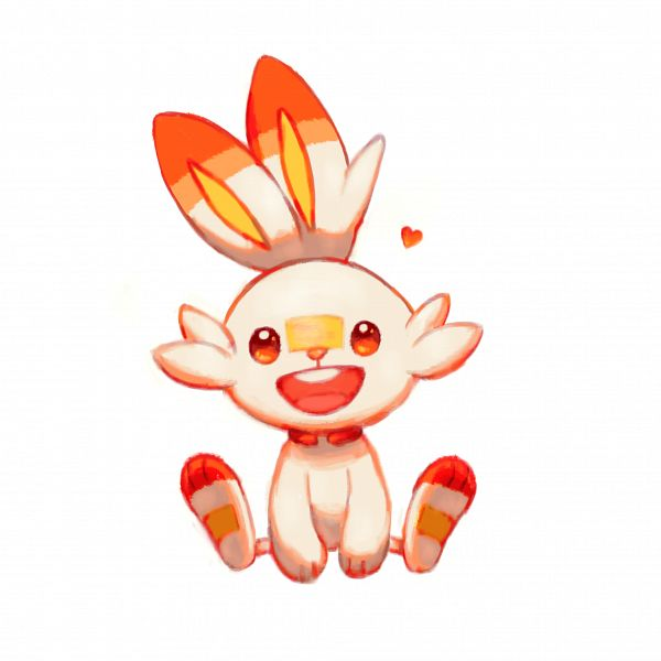 Tags: Anime, Pixiv Id 27579601, Pokémon Sword & Shield, Pokémon, Scorbunny, Fanart From Pixiv, Pixiv, Fanart