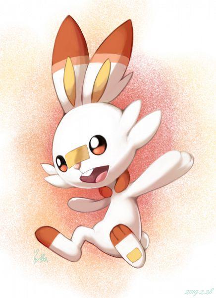 Tags: Anime, Pixiv Id 1887151, Pokémon Sword & Shield, Pokémon, Scorbunny, Fanart From Pixiv, Pixiv, Fanart
