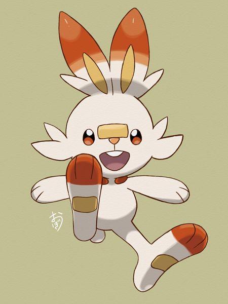 Tags: Anime, Pixiv Id 20969159, Pokémon Sword & Shield, Pokémon, Scorbunny, Fanart From Pixiv, Pixiv, Fanart