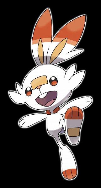 Tags: Anime, GAME FREAK, Pokémon Sword & Shield, Pokémon, Scorbunny, Official Art