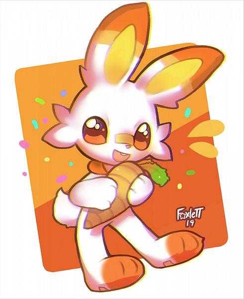 Tags: Anime, Foxlett, Pokémon Sword & Shield, Pokémon, Scorbunny, Tumblr, Fanart, Fanart From Tumblr