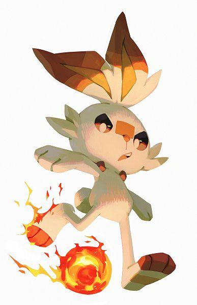 Tags: Anime, Pokémon Sword & Shield, Pokémon, Scorbunny, Fanart, Fanart From Tumblr, Tumblr