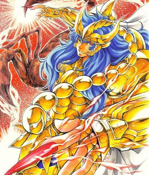 Tags: Anime, Saint Seiya Lost Canvas, Scorpio Kardia, Gold Saints -the Lost Canvas