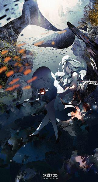Tags: Anime, Shisu (Binzo3), Kantai Collection, Seaplane Tender Water Hime (Kantai Collection), Pixiv, Fanart, Fanart From Pixiv