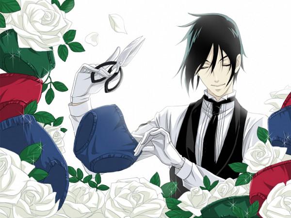 Tags: Anime, Sayohara, Kuroshitsuji, Ciel Phantomhive, Sebastian Michaelis, Nico Nico Douga, Pixiv
