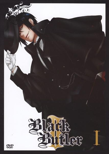 Tags: Anime, A-1 Pictures, Kuroshitsuji, Sebastian Michaelis, Scan, Mobile Wallpaper, DVD (Source), Official Art