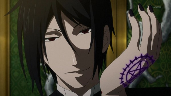 Tags: Anime, Kuroshitsuji, Sebastian Michaelis, Small Screenshot, Screenshot, Wallpaper