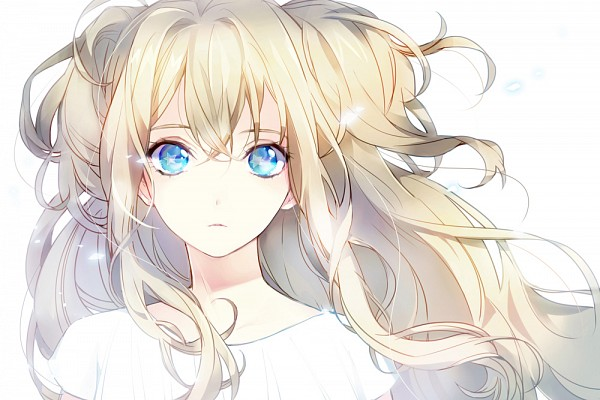 Tags: Anime, Tyuh, VOCALOID, SeeU, Wide Eyes, Beautiful Eyes, Fanart, Fanart From Pixiv, Revision, Pixiv