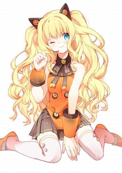 Tags: Anime, Pixiv Id 3531688, VOCALOID, SeeU, Gray Skirt, Fanart From Pixiv, Mobile Wallpaper, PNG Conversion, Pixiv, Fanart