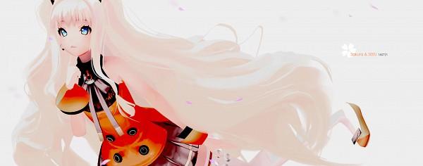 Tags: Anime, ArleneTea, VOCALOID, SeeU, 3D