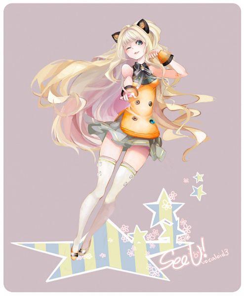 Tags: Anime, tri-bby, VOCALOID, SeeU, Fanart, Tumblr, Pixiv