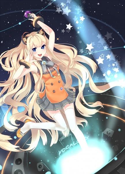 Tags: Anime, Cozyquilt, VOCALOID, SeeU, Mobile Wallpaper