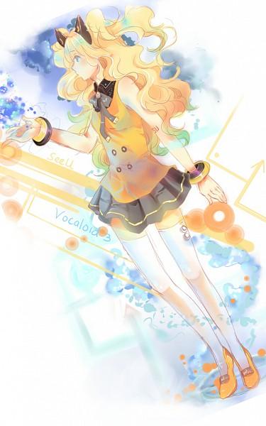 Tags: Anime, Ita-ita-san, VOCALOID, SeeU, Mobile Wallpaper