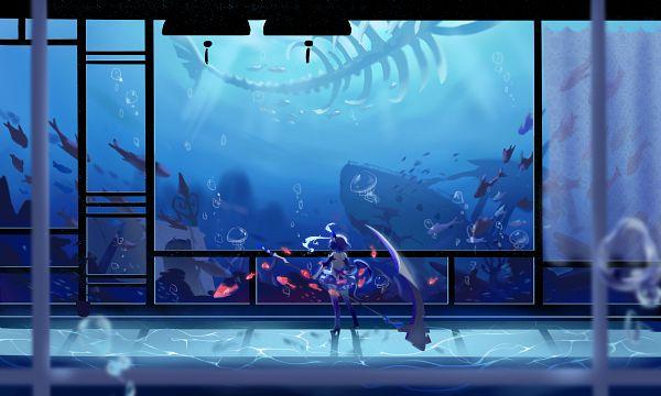 Tags: Anime, Pixiv Id 6352306, Houkai 3rd, Seele Vollerei, Aquarium, Jellyfish, Fanart, Fanart From Pixiv, Pixiv