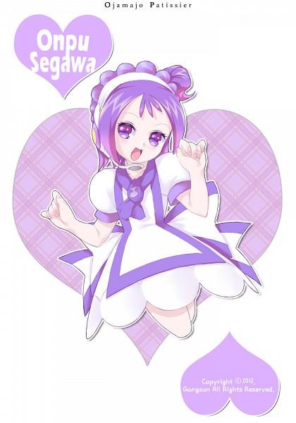 Tags: Anime, Pixiv Id 3046064, Ojamajo DoReMi, Segawa Onpu, Pâtissier Intercom, Purple Headwear, Fanart