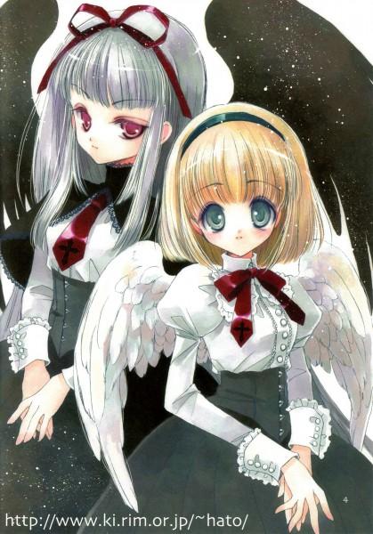 Tags: Anime, Rami Hato, Seifukutan, Translation Request, Character Request, Pixiv