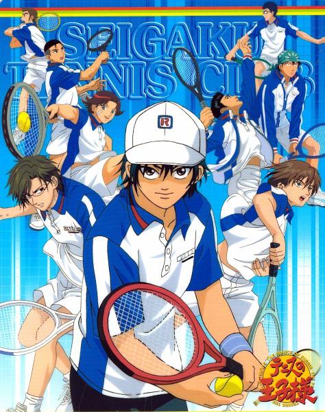 Tags: Anime, Tennis no Ouji-sama, Kaido Kaoru, Momoshiro Takeshi, Inui Sadaharu, Fuji Shuusuke, Tezuka Kunimitsu, Kikumaru Eiji, Echizen Ryoma, Oishi Shuichiro, Kawamura Takashi, Tennis Racket, Seigaku Uniform, Youth Academy