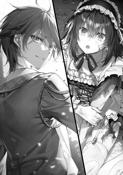 Tags: Anime, Toosaka Asagi, Seiken Gakuin no Maken Tsukai, Official Art, Character Request, Novel Illustration