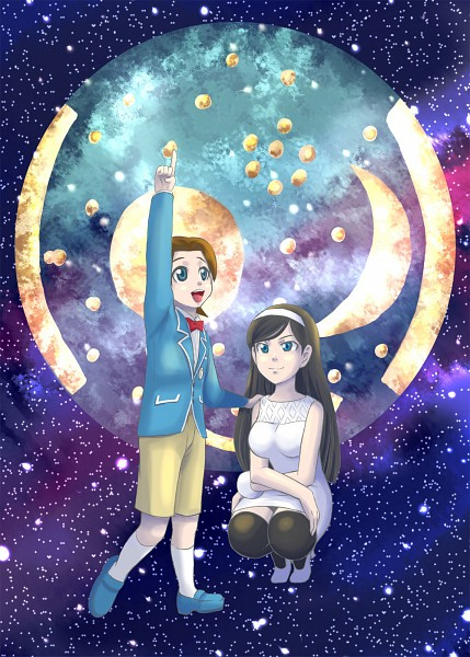 Tags: Anime, Pixiv Id 20333, Seikimatsu Occult Gakuin, Uchida Fumiaki, Kumashiro Maya, Occult Academy