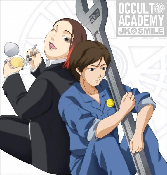 Tags: Anime, Pixiv Id 396431, Seikimatsu Occult Gakuin, Smile (Seikimatsu Occult Gakuin), JK, Pudding, Occult Academy