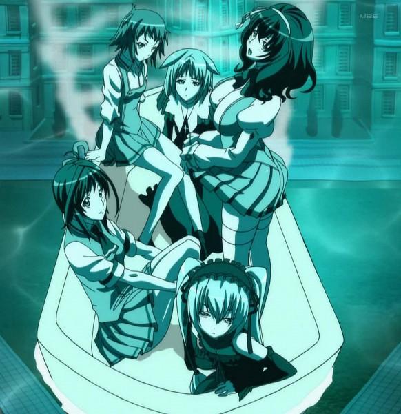 Tags: Anime, Seikon no Qwaser, Teresa Beria, Katsuragi Hana, Oribe Mafuyu, Yamanobe Tomo, Ekaterina Kurae