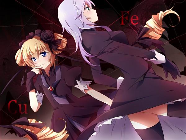 Tags: Anime, Seikon no Qwaser, Ekaterina Kurae, Alexander Hel