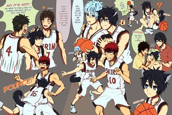 Tags: Anime, Sarakrista, Kuroko no Basuke, Hyuuga Junpei, Tetsuya No.2, Kagami Taiga, Kiyoshi Teppei, Kuroko Tetsuya, Koganei Shinji, Mitobe Rinnosuke, Seirin High