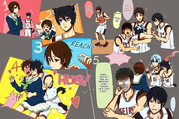 Tags: Anime, Sarakrista, Kuroko no Basuke, Kiyoshi Teppei, Kagami Taiga, Koganei Shinji, Kuroko Tetsuya, Mitobe Rinnosuke, Izuki Shun, Aida Riko, Tetsuya No.2, Hyuuga Junpei, Seirin High