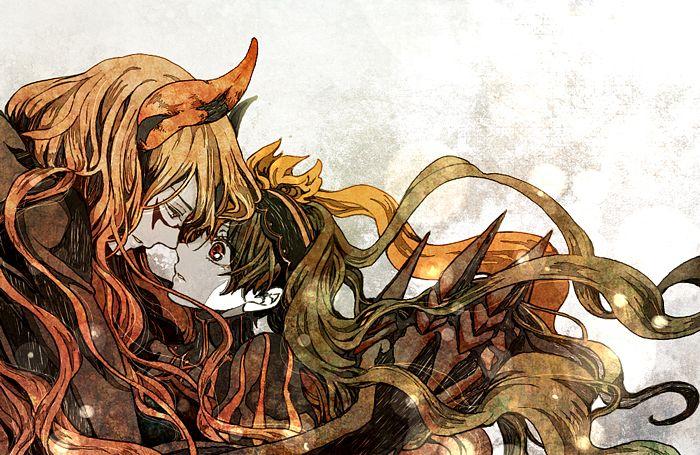 Tags: Anime, 708 (Artist), Layla (Sound Horizon), Shaytan (Sound Horizon), Pixiv, Fanart From Pixiv, Seisen no Iberia, Fanart, Sound Horizon