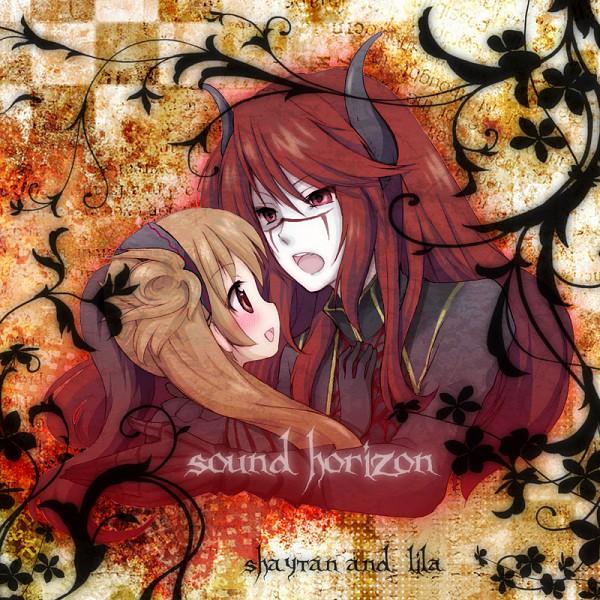 Tags: Anime, Yunoki Ryouta, Shaytan (Sound Horizon), Layla (Sound Horizon), Pixiv, Seisen no Iberia, Sound Horizon