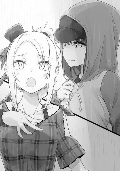 Tags: Anime, Mizoguchi Keiji, Seishun Buta Yarou Series, Toyohama Nodoka, Hirokawa Uzuki, Novel Illustration, Official Art