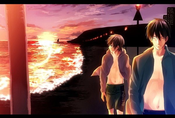 Tags: Anime, Fujishima Akira, Sekai Ichi Hatsukoi, Takano Masamune, Onodera Ritsu, Pixiv, Fanart, World's First Love