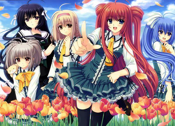 Tags: Anime, Nishimata Aoi, Navel (Studio), Vivid, Sekajyo~the World Is Mine, Sakurako Tono, Ako Hananomiya, Kona Nako, Yumeko Yamino, Tsubakiko Munemoto, Tulip, Scan