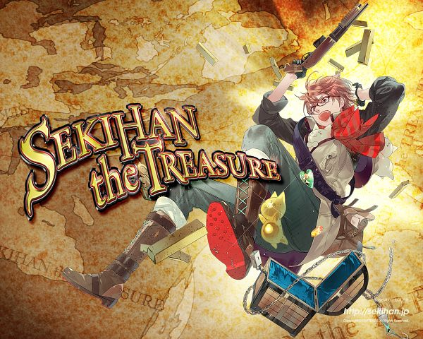 Tags: Anime, Kazuaki, Sekihan, Treasure, Treasure Chest, Text: Album Name, CD (Source), Nico Nico Singer