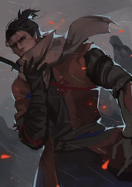 Tags: Anime, Pixiv Id 10455619, Sekiro: Shadows Die Twice, Sekiro, Pixiv, Fanart, Fanart From Pixiv