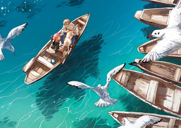 Tags: Anime, Selina (Pixiv403217), Seagull, Original, Pixiv