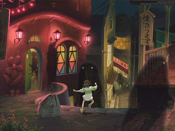 Tags: Anime, Studio Ghibli, Sen to Chihiro no Kamikakushi, Ogino Chihiro, Screenshot, Spirited Away