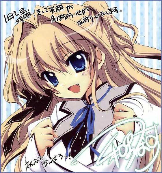 Tags: Anime, Izumi Tsubasu, Palette (Studio), Mashiro Iro Symphony, Sena Airi, Official Art