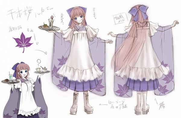 Tags: Anime, Itto Maru, VOCALOID, Megurine Luka, Senbonzakura (Song), Character Sheet, Thousand Cherry Blossoms