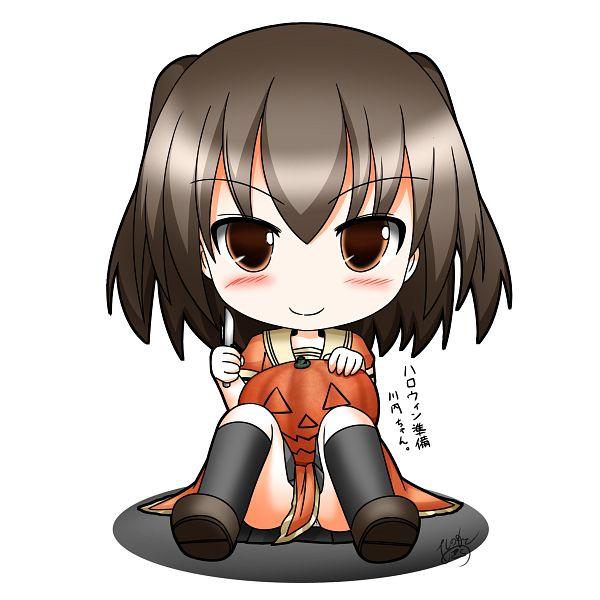 Tags: Anime, Pixiv Id 3313265, Kantai Collection, Sendai (Kantai Collection)